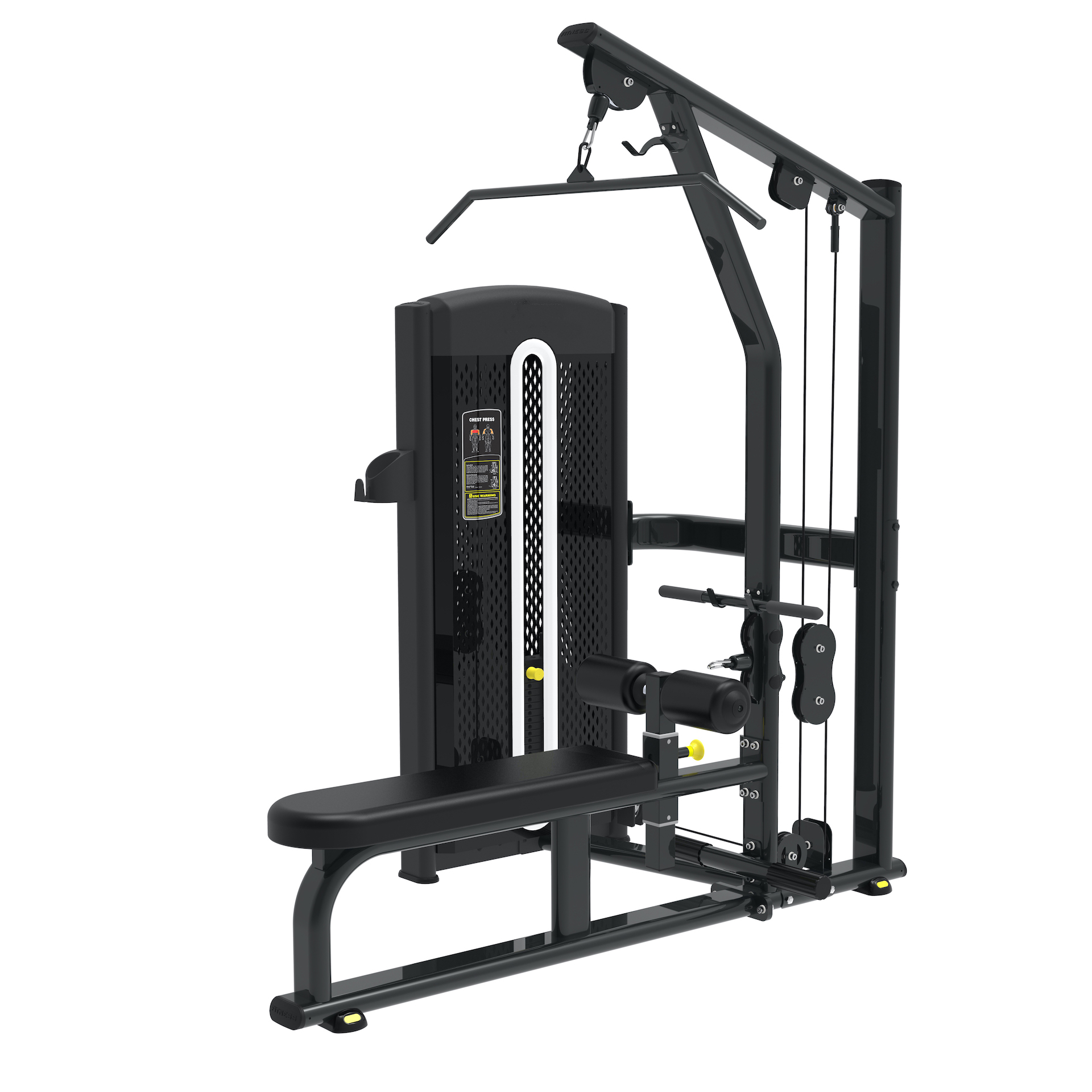 Lat Pull Down and Low Row Machine