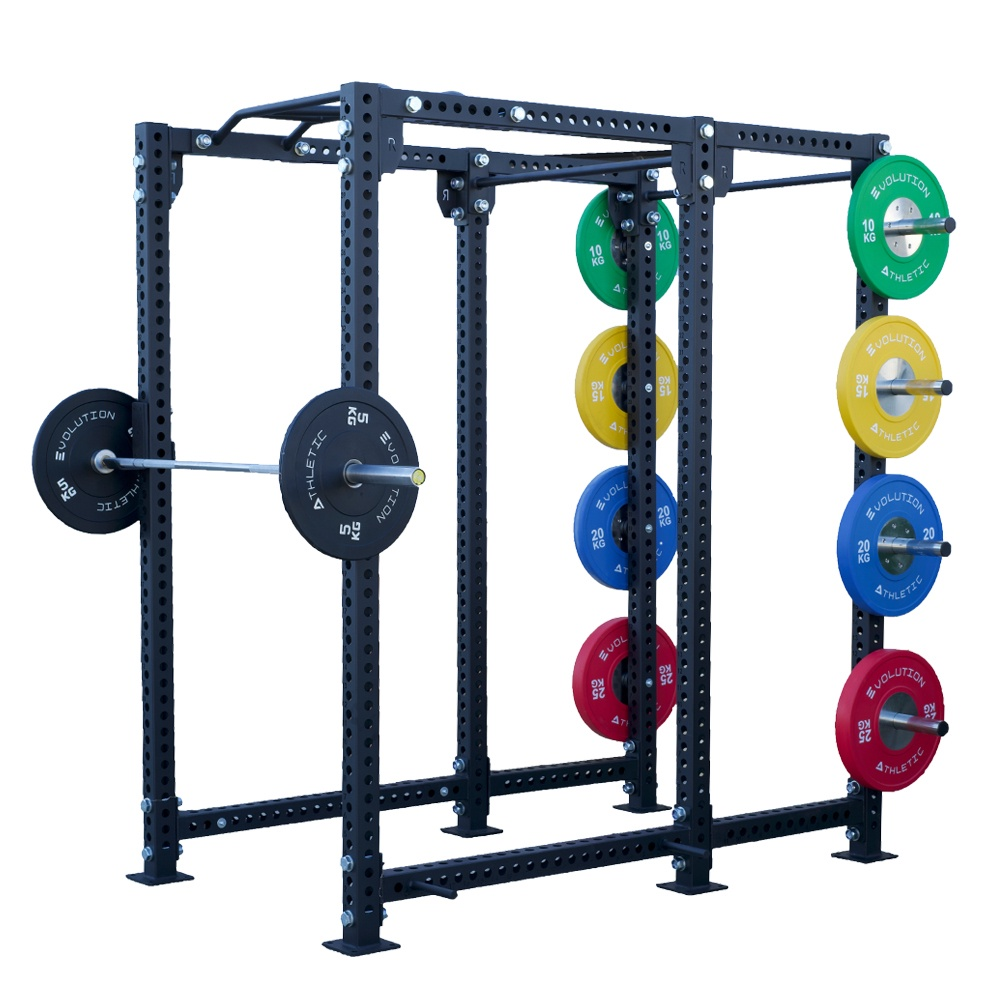 Power rack and weight plate package