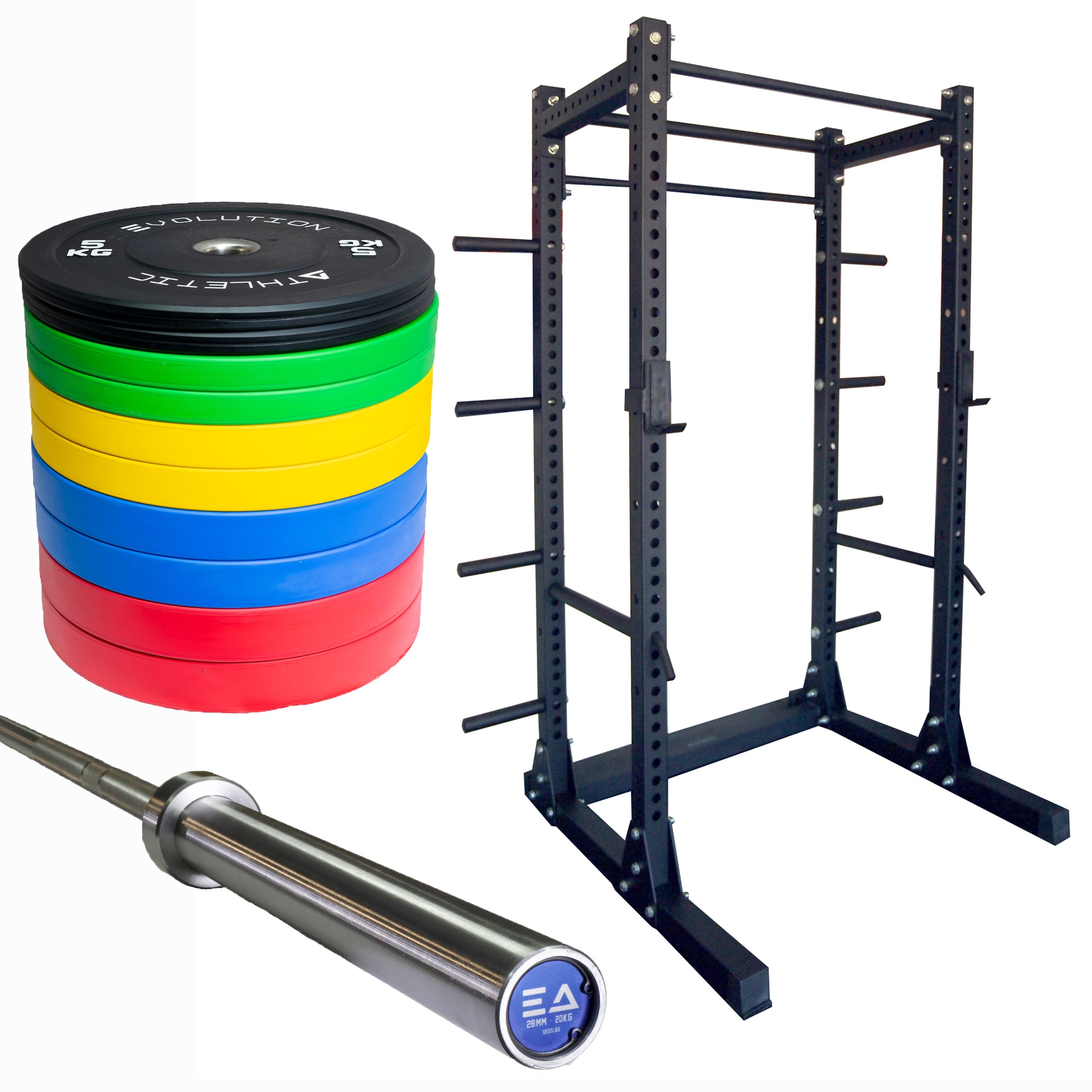 Power Rack & Weight Package